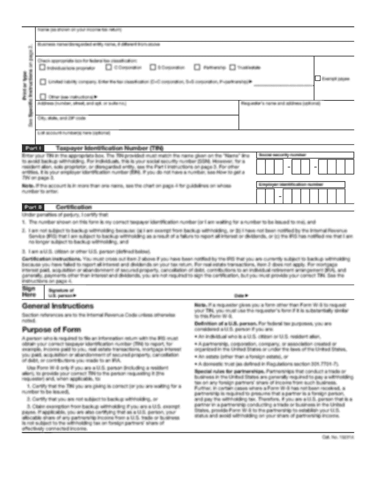 Municipal Alcohol Permit Application - City of Woodstock